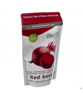 Biotona Red Beet Raw Powder 200g3092061-31