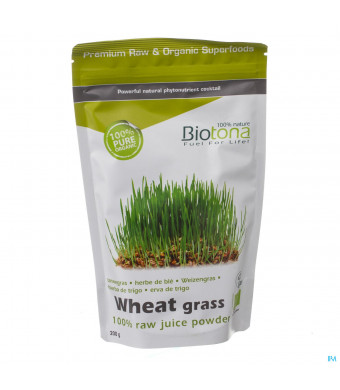 Biotona Wheat Grass Raw Juice Powder 200g3092095-31