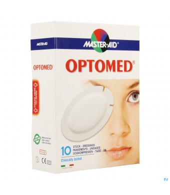 Optomed Cp Oculaire Adh S/latex 96x66mm 10 701183118619-31