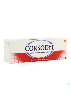 Corsodyl 10mg/g Gel Dentaire Tube 50g0047530-20
