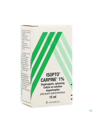 Pilocarpine-isopto 1 % Collyre 15ml0050666-20