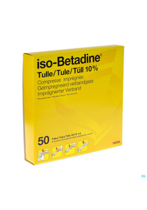 Iso Betadine Tulles Compr 50 10x100100503-20