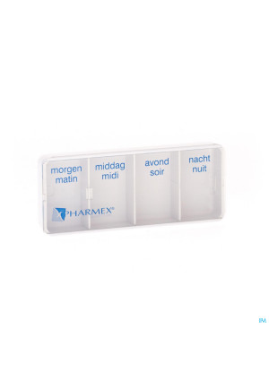 Pharmex Day Pill Box 4 Comp.0235697-20