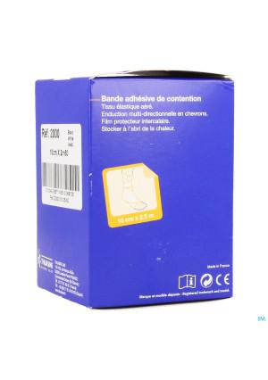 Biplast Bande Contention Adh Blanc 10cmx2,5m 10265272-20