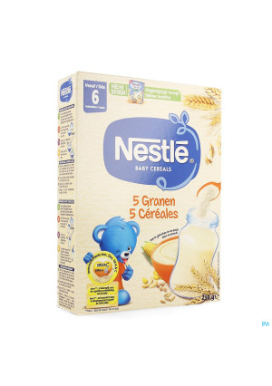 Nestle Baby Cereals 5 Cereales 250g0281808-20