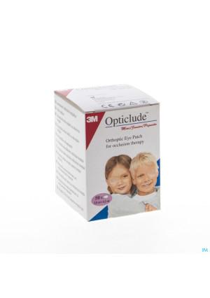 Opticlude Pansement Orthoptique Junior 63mm X 48mm0380329-20