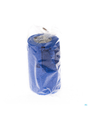 Coban 3m Bandage El. Blue Roul. 10,0cmx4,5m 1 15840439307-20