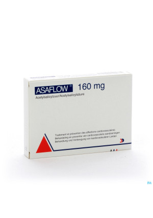 Asaflow 160mg Comp Gastro Resist Bli 56x160mg0491290-20