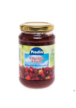 Prodia Confiture 4 Fruits + Fructose 370g 60951038355-20