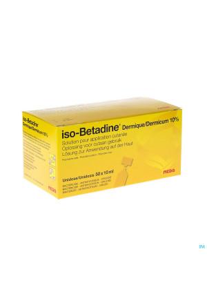 Iso Betadine Derm 10% 50x10ml Ud1080233-20