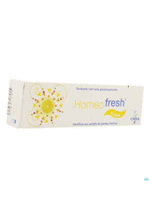 Homeofresh Dentif Bio Citron 75ml Unda1184209-20