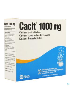 Cacit 1000 Tabl Efferv. Tube 30 X 1000mg1218460-20