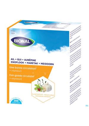 Bional Ail+gui+aubepine+vit E Caps 2001435916-20