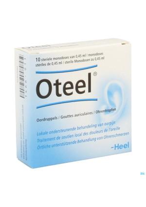 Oteel Gutt Auriculaires 10x0,45ml Heel1466911-20