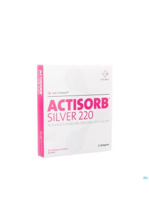 Actisorb Silver 220 Cp 10,5x10,5cm 10 Mas105de1569581-20