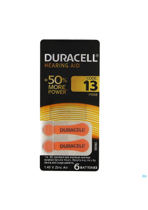 Duracell Easytab Pile Auditive Da13 6 Orange1656636-20