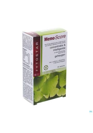 Biostar Memo-score Caps Vegetal 60x535mg1701853-20