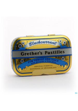 Grethers Pastilles Blackcurrant Drag 60g2083012-20