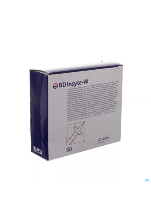 Bd Insyte-w Cath.iv 22g 1 0,9x25mm Bleu 50 3813232105583-20
