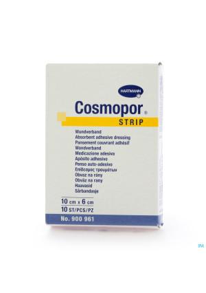 Cosmopor Strip Pflaster 6x10cm 10 90096122108512-20