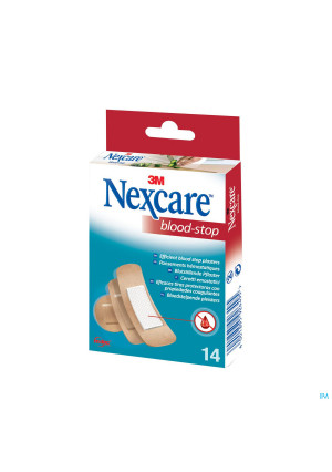 Nexcare 3m Bloodstop Assorted 14 N1714as2135945-20