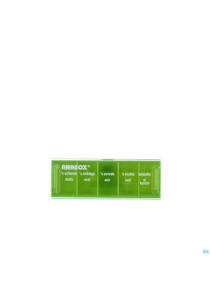 Anabox Pilulier 1 Jour 5 Comp. Fr2181659-20