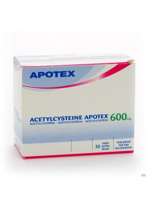 Acetylcysteine Apotex Sach 30 X 600mg2226983-20