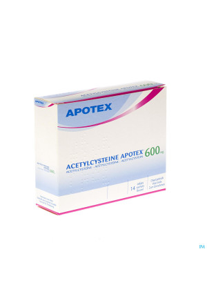 Acetylcysteine Apotex Sach 14 X 600mg2227023-20