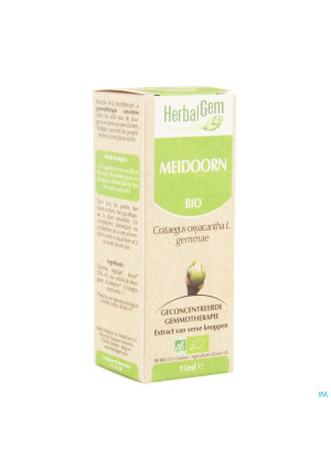 Herbalgem Aubepine Macerat 15ml2228708-20