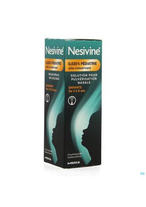 Nesivine 0,025% Sine Conserv Ped Spray Nas 10ml2252104-20