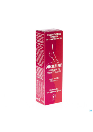 Akileine Rouge Baume Reposant Tube 50ml 1010302324325-20