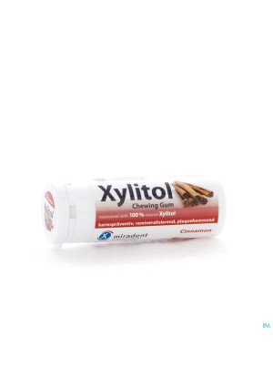 Miradent Xylitol Chewing-gum Canelle2337590-20