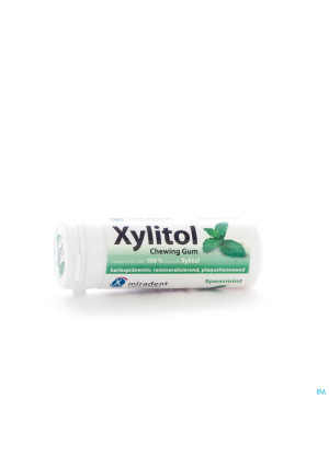 Miradent Xylitol Chewing-gum Menthe Verte2337608-20