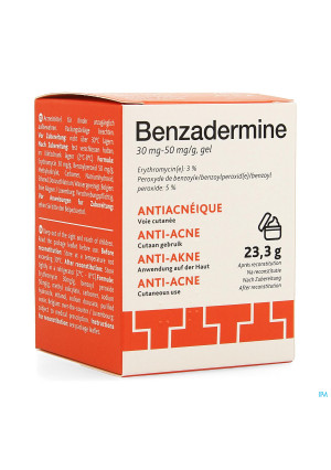 Benzadermine 30mg/50mg Gel Pot 23,3g2540342-20