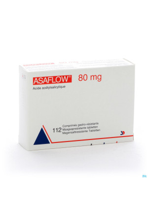 Asaflow 80mg Comp Gastro Resist Bli 112x 80mg2542462-20