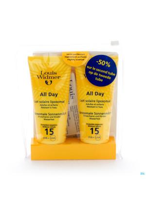 Widmer Sun All Day 15 Parf Nf Tube 2x100ml2564284-20