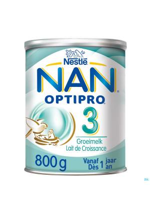 Nan Optipro 3 +1ans Lait Croissance Pdr 800g2588077-20