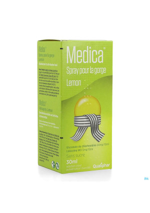 Medica Spray Pour La Gorge Lemon 30ml2639151-20