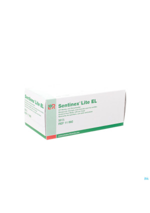 Sentinex Masque Chirugien Lite Vert+elast 50 119922663011-20