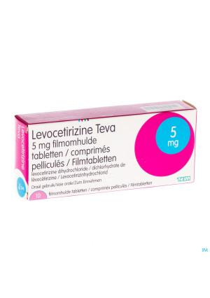 Levocetirizine Teva 5mg Comp 102669299-20