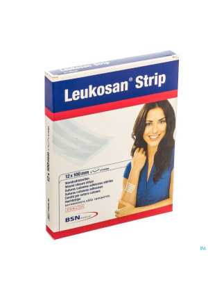 Leukosan Strip Ster 12x100mm Blanc 2x 6 72628102669687-20