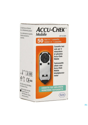 Accu Chek Mobile Test Cassette 50 Tests 71412541712676823-20