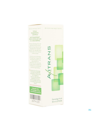 Axitrans Lotion Peau Sensible 50ml2679223-20