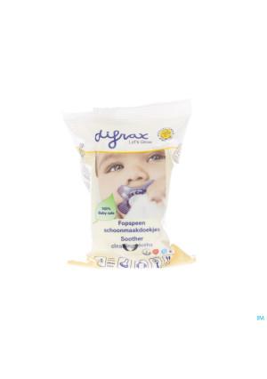 Difrax Lingettes Pour Sucette 20 4592709533-20