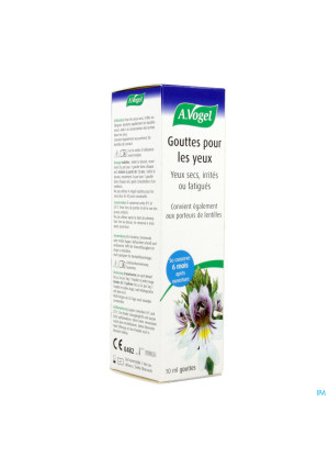 A.Vogel Collyre 10ml2732626-20
