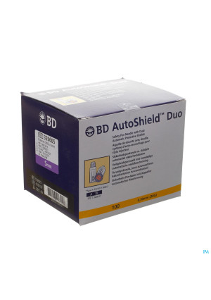 Bd Autoshield Aiguille Stylo Duo 5mm 100 3296052779031-20