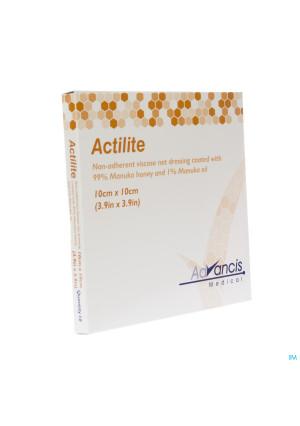 Actilite Pans Activon A/bact. N/adh 10x10cm 102789808-20