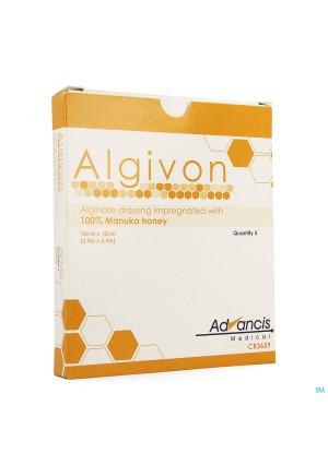 Algivon Alginate Miel Manuka N/adh Ster 10x10cm 52789907-20