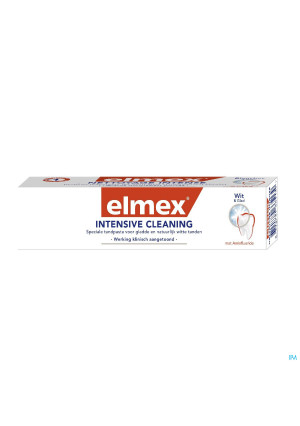 DENTIFRICE ELMEX® NETTOYAGE INTENSE TUBE 50ML2795557-20