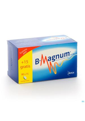 B-magnum 450mg Promopack Tabl 90+15 Gratuit2845121-20
